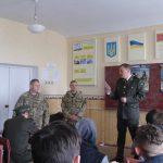 Зустріч з військовими 1-ї окремої танкової бригади смт. Гончарівське